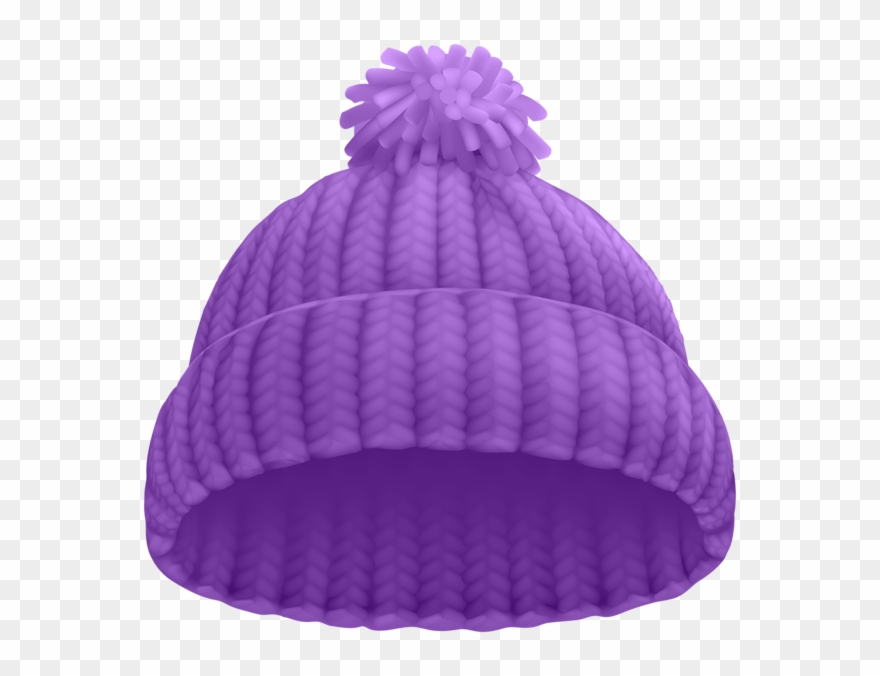 b188136294f3b2 Purple Winter Hat Png Clip Art Image - Beanie Clipart Transparent Png