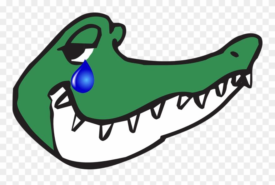 Krokodilstränen Gambar Kepala Buaya Animasi Clipart 1382250