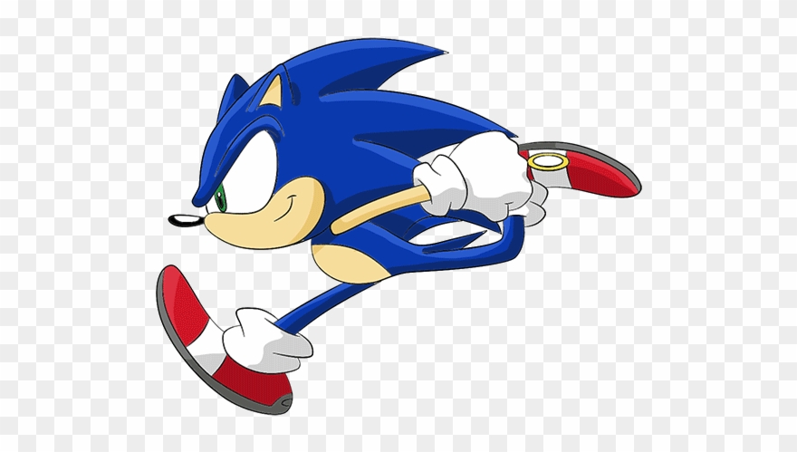 Sonic The Hedgehog Running Animation Snooping As Usual I See Memes Clipart 1389138 Pinclipart
