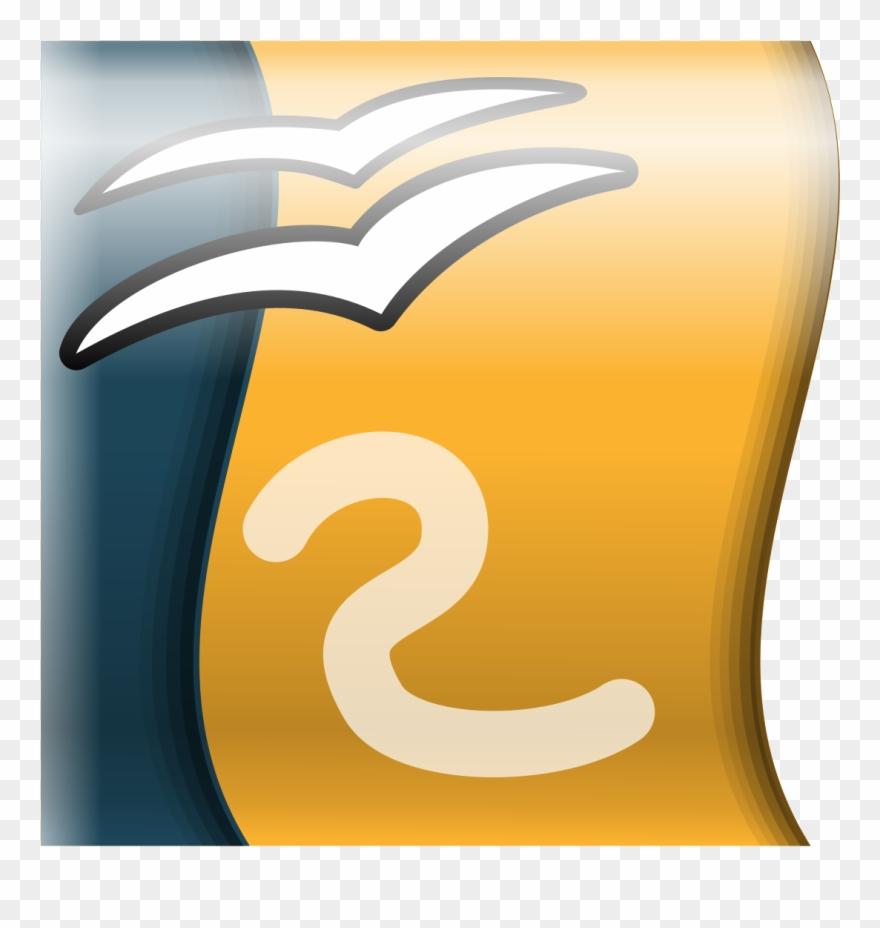 Open Office Logo Impress Clipart 1390174 Pinclipart