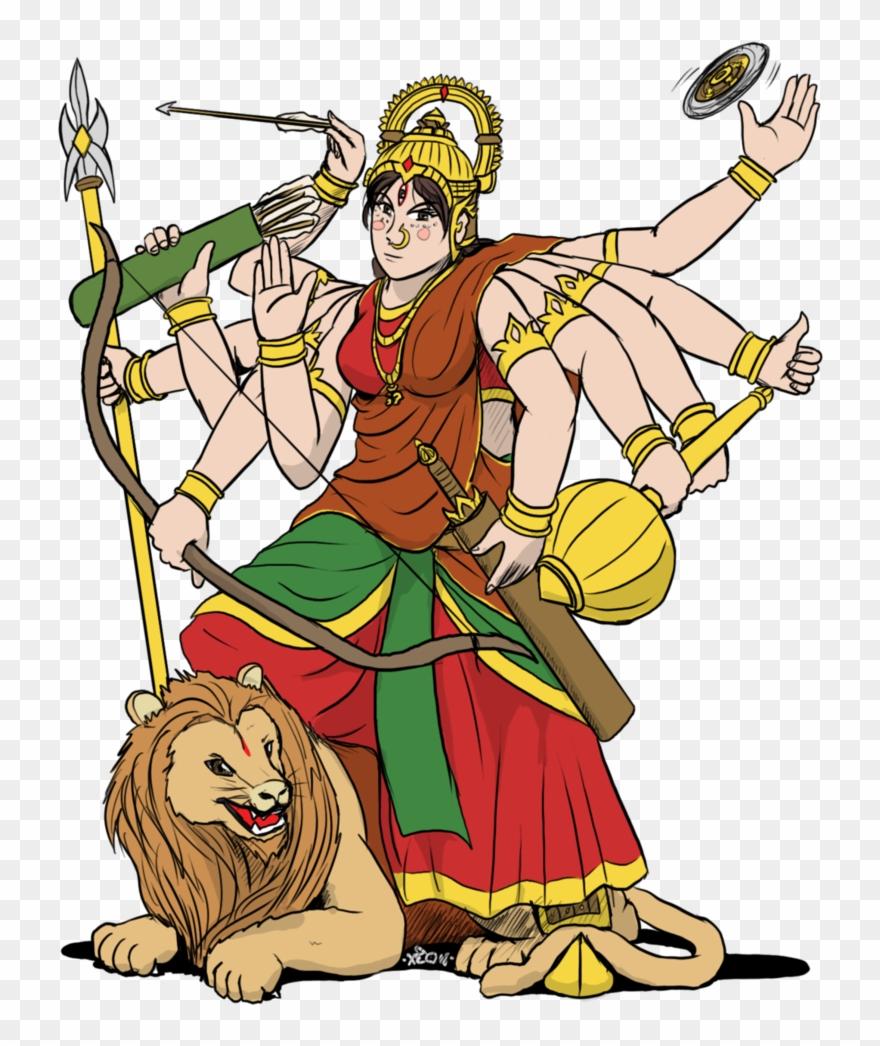 Kali Drawing Maa Clip Art Royalty Free Download Cartoon