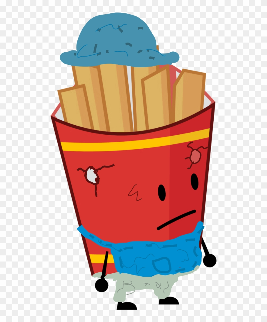 Scarecrow Fries 0 - Bfdi Assets Bodies Bfb Clipart (#1392687