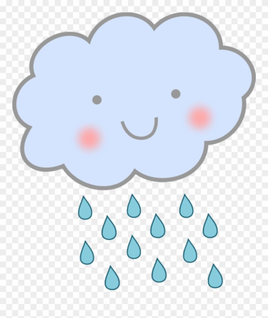 Rain transparent. Clouds clip art nuvem