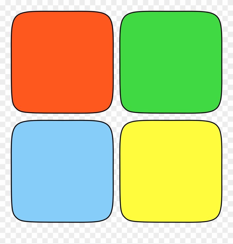 Own Windows Logo Wikipedia - Four Colored Squares Logo Clipart