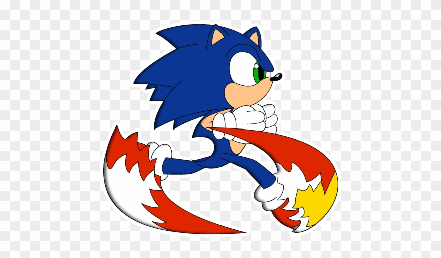 Sonic Running Sth Ep Style By Wingedknight Uc Sonic Style Sth By Photograph Clipart 1398032 Pinclipart