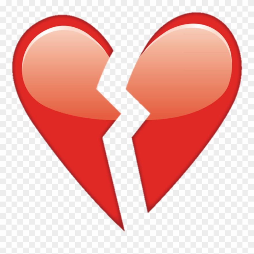 Overlay Tumblr Heart Corazonroto Corazon Heartbroken Ios Broken