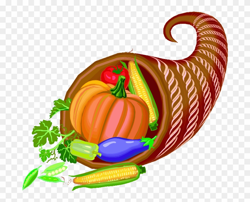 Thanksgiving harvest. Clipart november food transparent