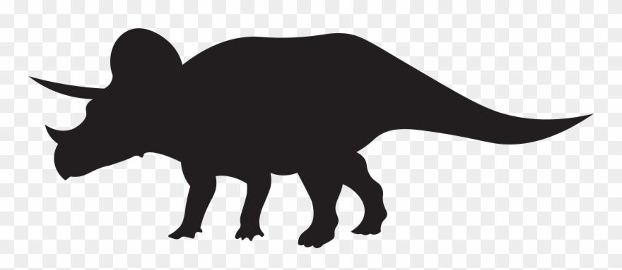 Dinosaur black. Dinosaurs triceratops png clip