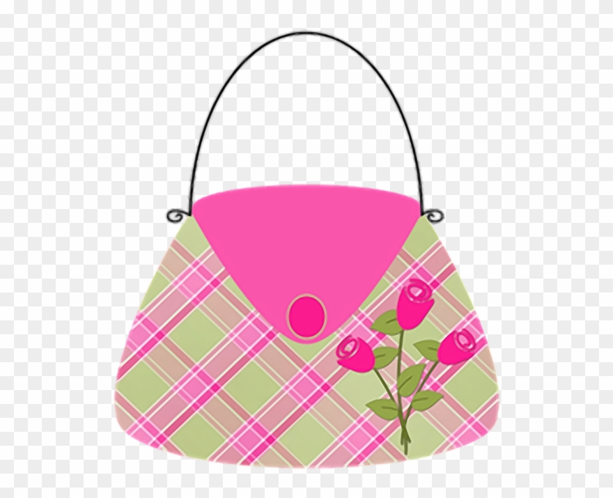 7ce7bc0e5 Sapatos & Bolsas Sewing Projects, Clip Art, Mother's - Desenho Bolsa Rosa  Png Transparent