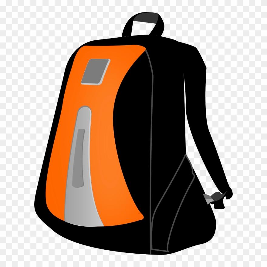 Baggage Backpack Download Duffel Bags - Mochila Vectores Clipart ... 216153f534f5e