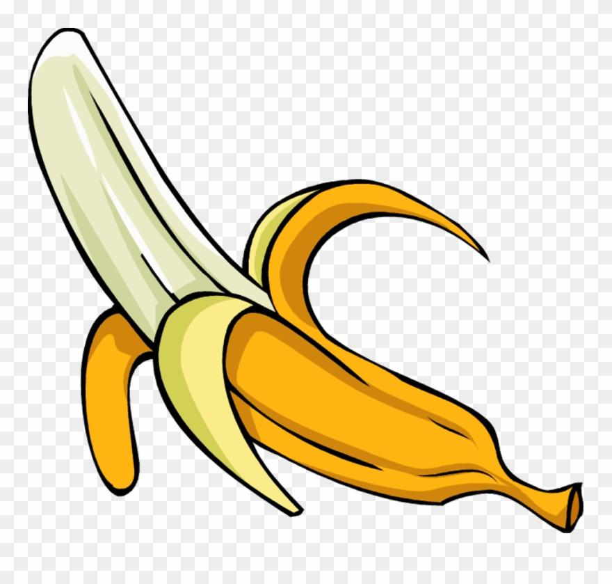 Banana food. Banner royalty free stock