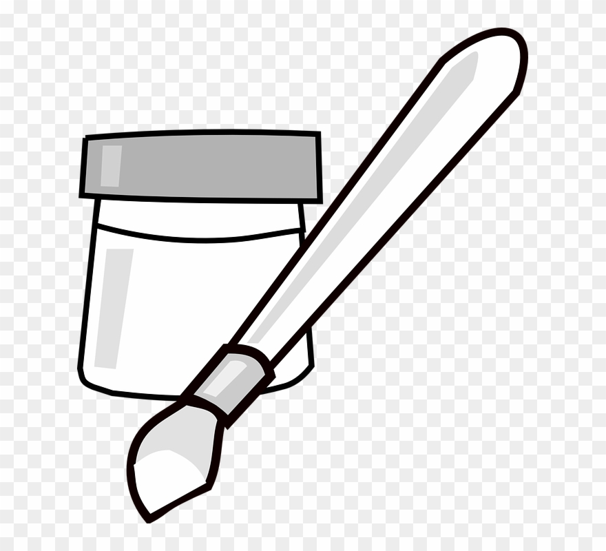 Paint Bucket Comments - Paint Buckets Png Black And White Clipart  (#1796872) - PinClipart