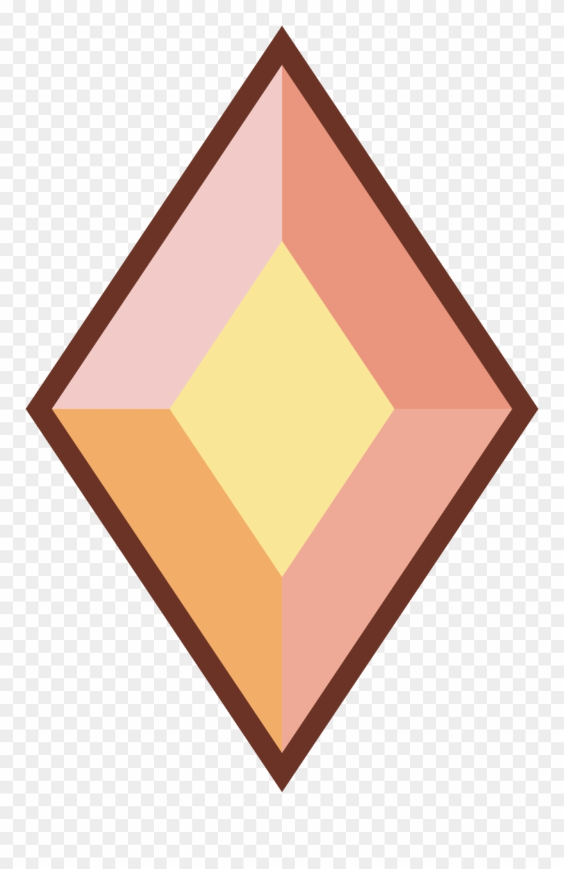 Diamond gem. Steven universe yellow clipart