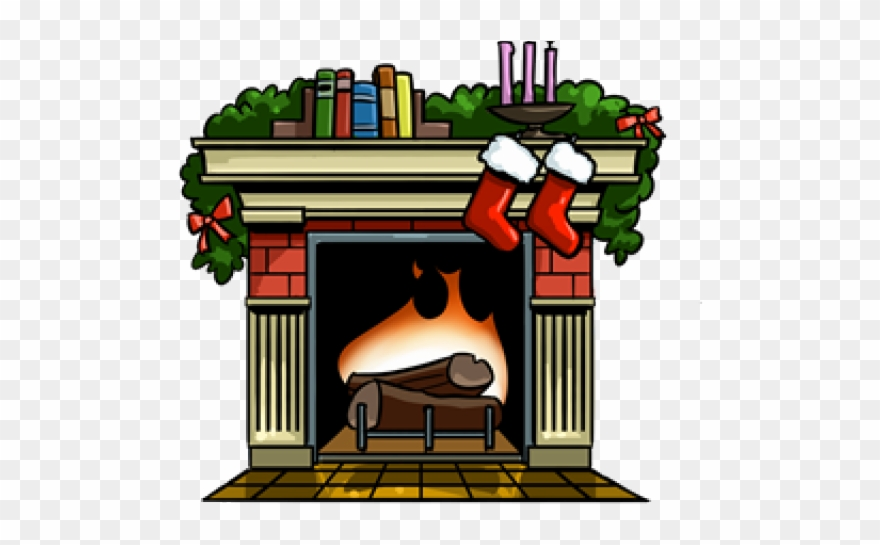 Christmas Fireplace Scene Clipart.Fireplace Clipart Fireplace Scene Drawing Of Fireplace
