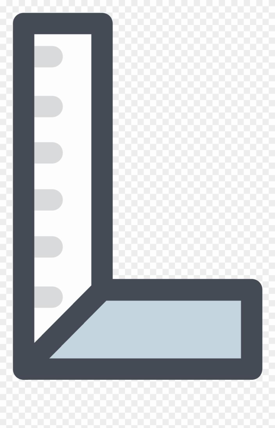 Construction Carpenter Ruler Icon - Construction Clipart
