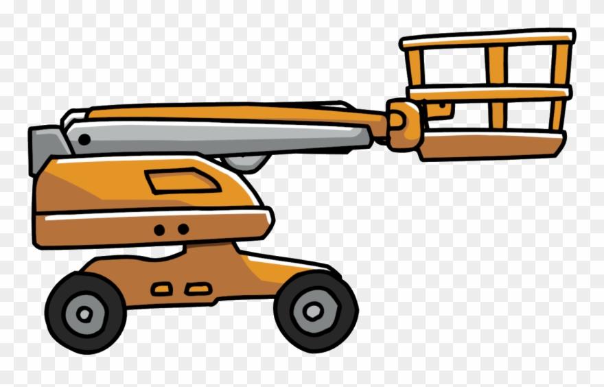 Articulated Lift - Scribblenauts Remix Vehicles Clipart