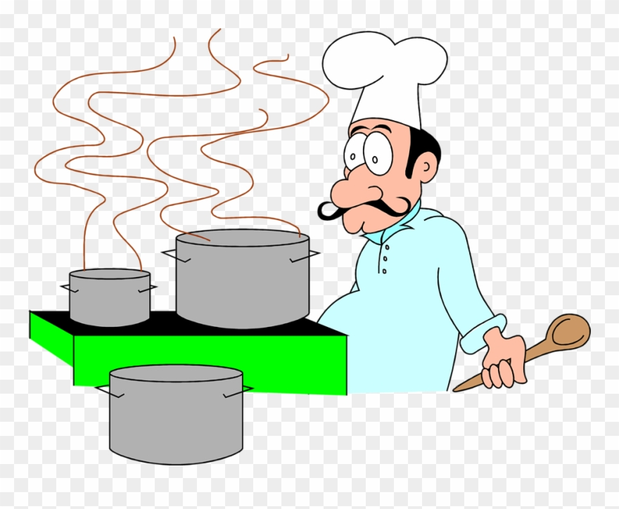 Chef Cooking Clipart Cooking Cartoon Gif Png Transparent Png 148420 Pinclipart