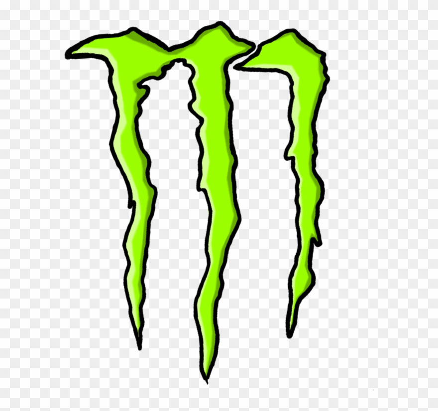 Energy Drink Cliparts Monster Energy Png Download 148624