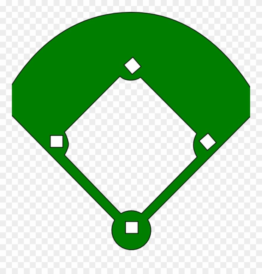 Clip Stock Baseball Clip Diamond - Baseball Field Clipart ... (880 x 920 Pixel)
