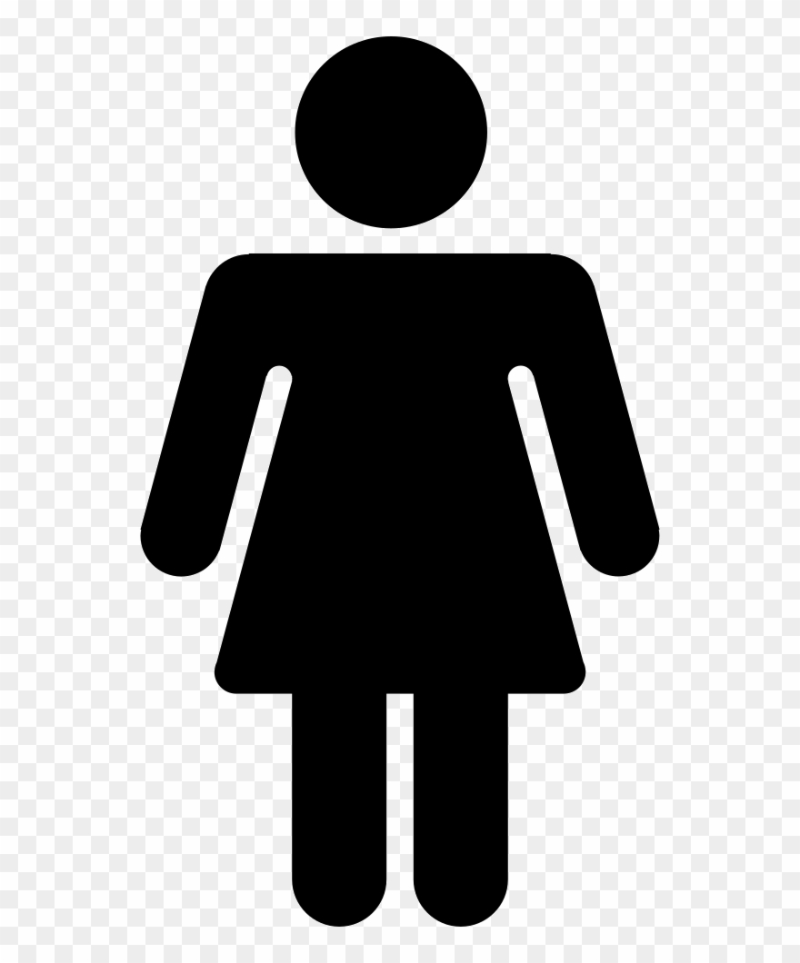 Png File Female Toilet Signs Clip Art