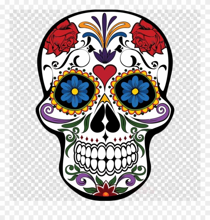 foto de Download Mexican Day Of The Dead Skull Clipart Day Mascaras De Calaveras Pintadas Png