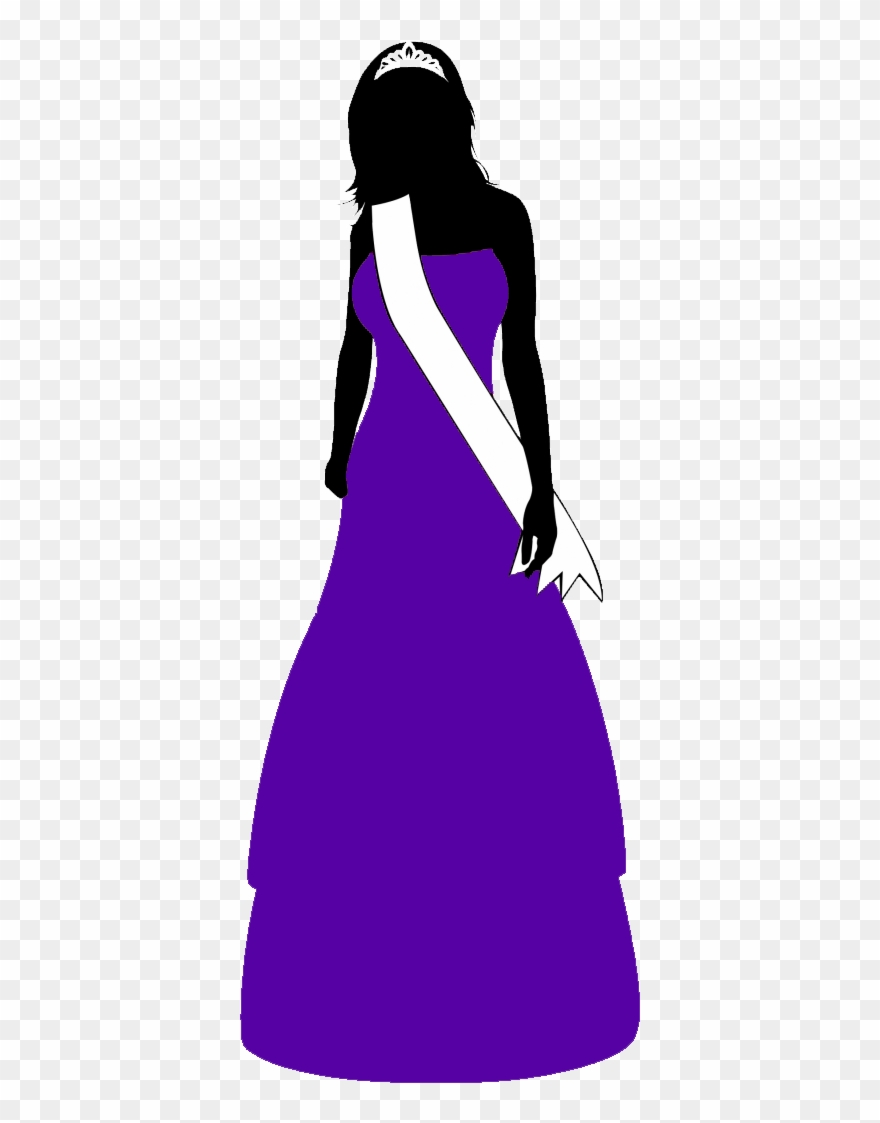 Beauty Pageant Transparent Clipart 1401983 Pinclipart