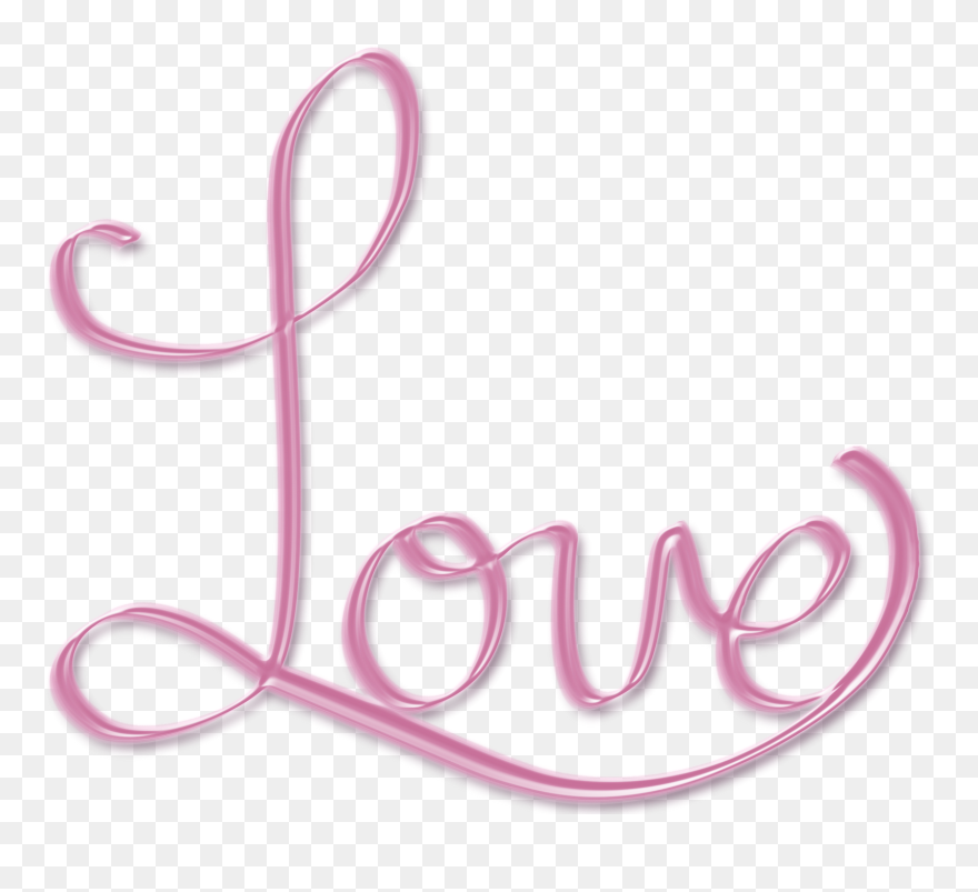 Love Png, Png Tumblr, Fancy Fonts, Beautiful Love, - Word