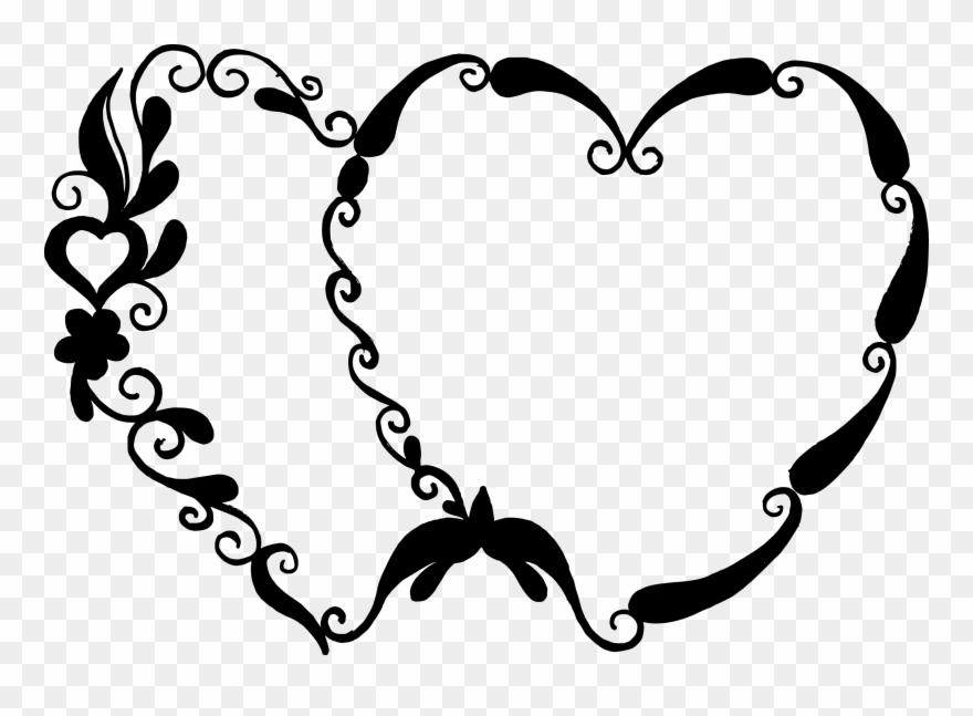 Black Heart Transparent