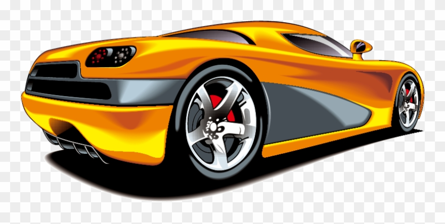 Clip Art Luxury Sports Car Vector Yellow Aefafea Car Car Wash