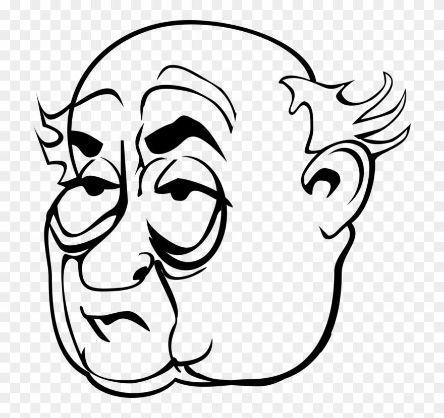 Misogyny Eye Face Woman Cartoon Grumpy Old Man Mug Clipart