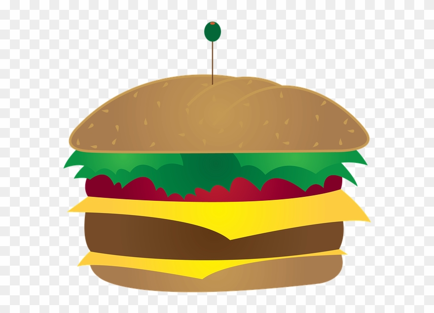 Burger Illustration Png Clipart