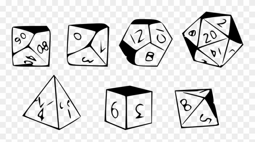 picture regarding Printable Dice named Printable Cube 5, Invest in Clip Artwork - Roll Blouse, Rpg Blouse