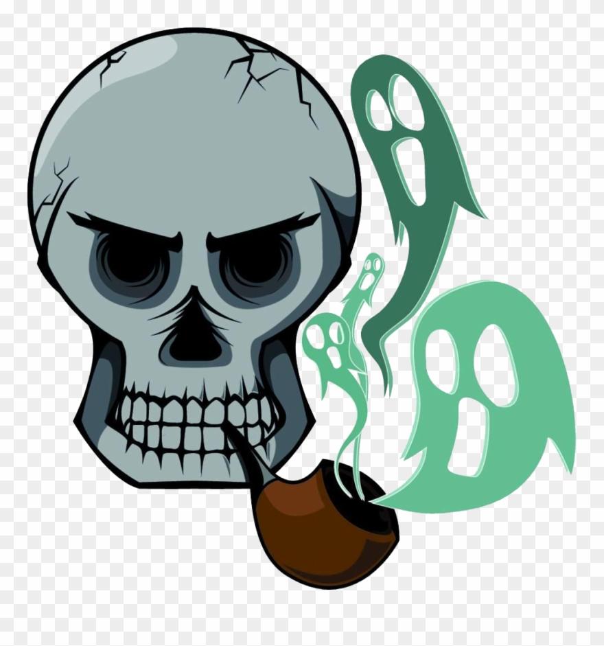 Cigarette Smoking Skull Stock Photography The Is Desenhos De