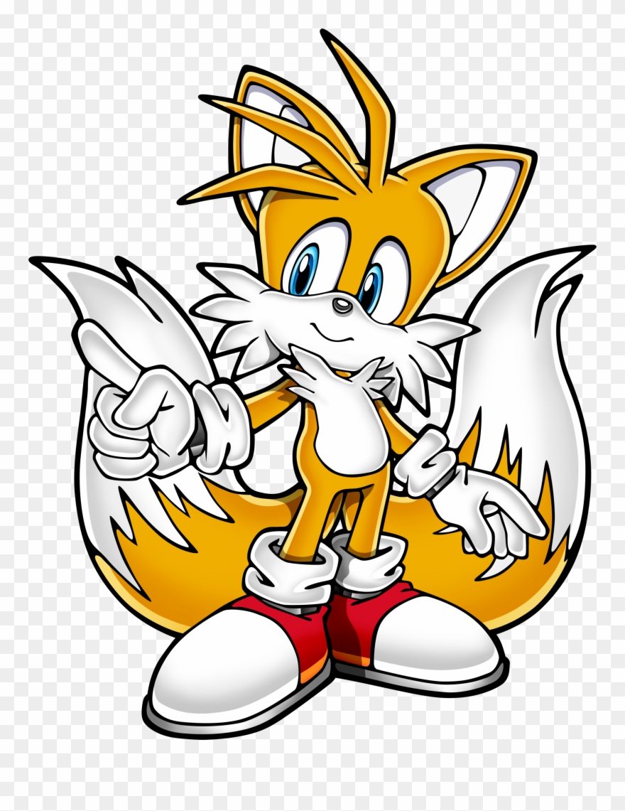 Post Image Sonic The Hedgehog Tails The Fox Clipart 1421671 Pinclipart