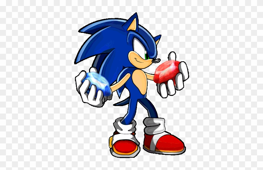 Emerald Clipart Sonic The Hedgehog Dark Sonic Sprite Gif Png Download 1422152 Pinclipart