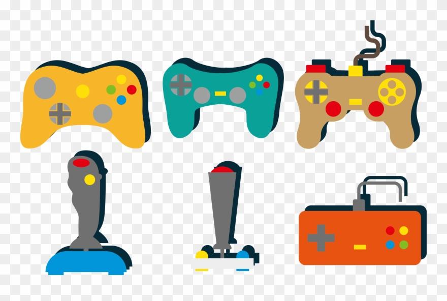 Clip Free Download Joystick Game Controller Video Color