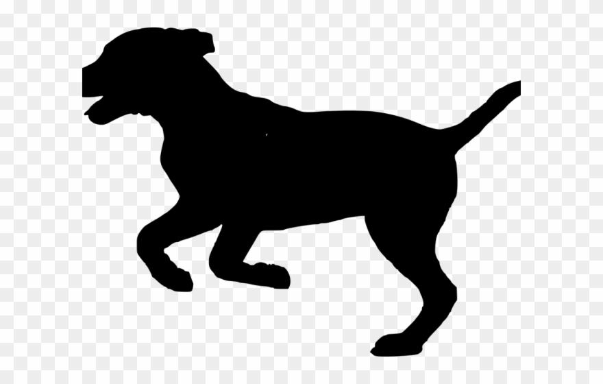 Shadow Clipart Husky - Running Dog Silhouette Clip Art ...
