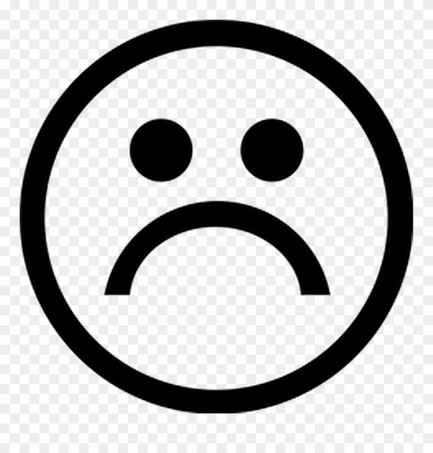 Sad Boys Logo Png Vector Royalty Free - Sad Smiley Black And White