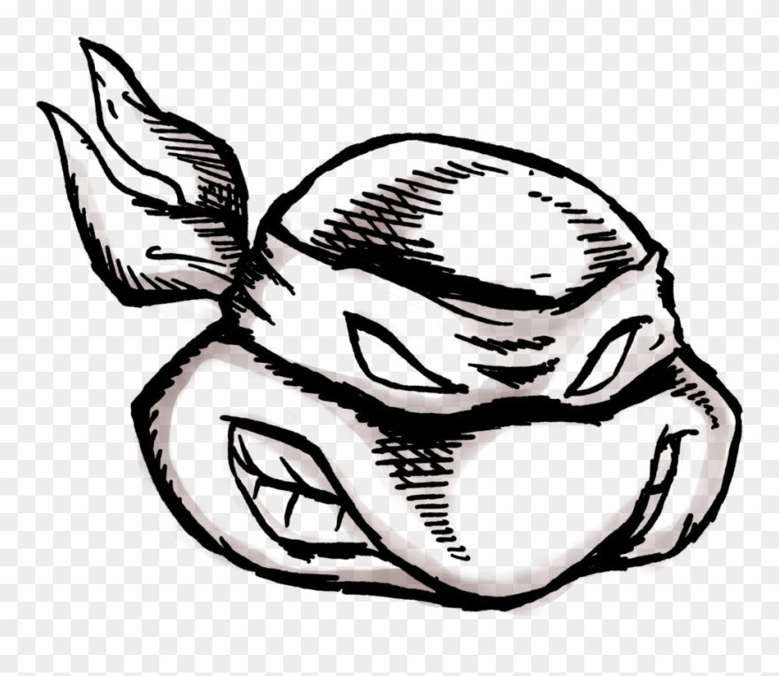 Just Like The Outline For My Ninja Turtle Drawing Illustration