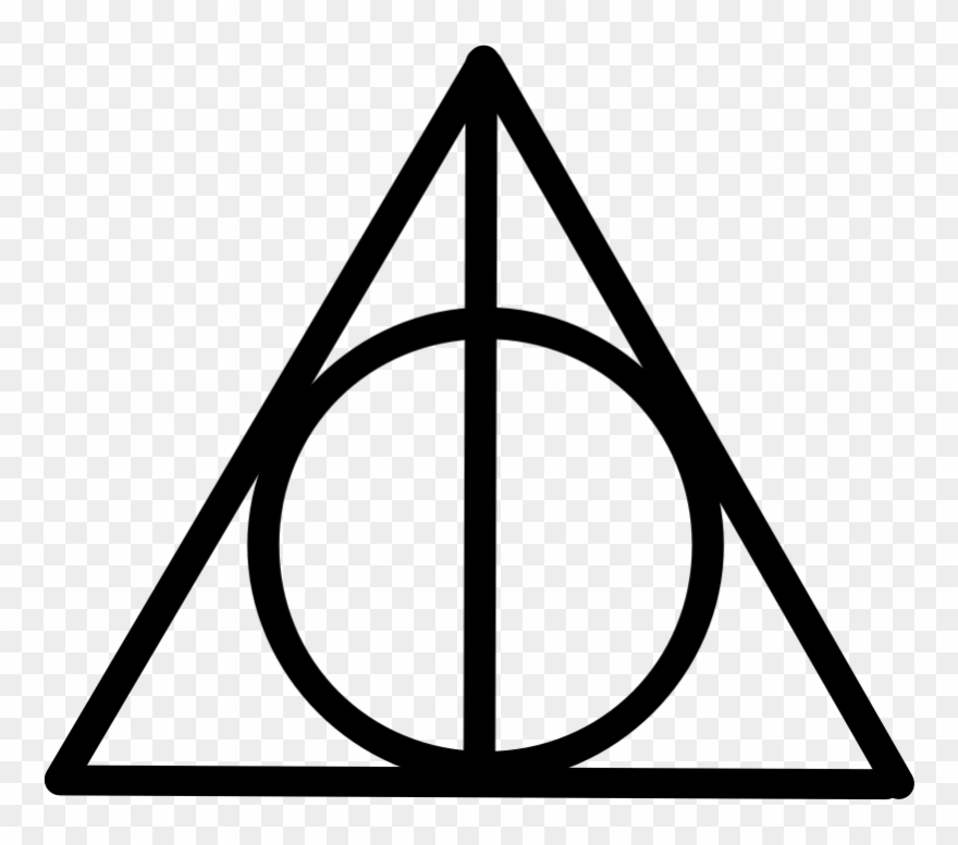 Clipart - Deathly Hallows - Deathly Hallows Symbol - Png ...