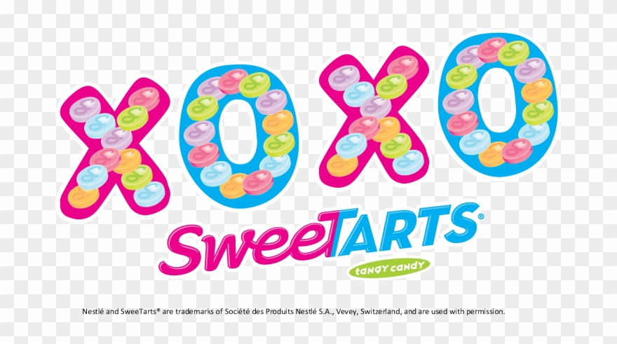 Hugs And Kisses To My Sister Sandy Sour Candy Sweetarts