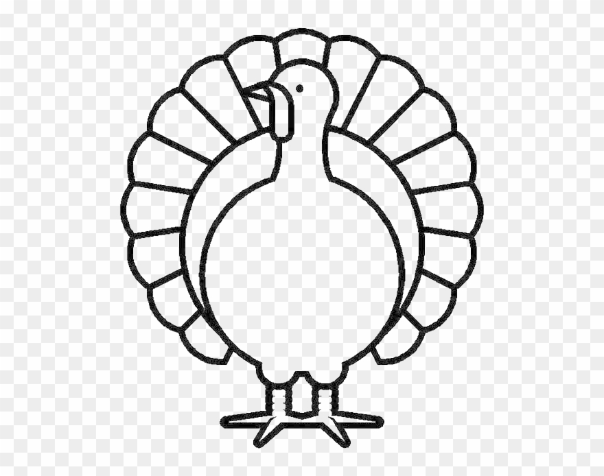 Canada Thanksgiving Day Turkey In Graphic Coloring