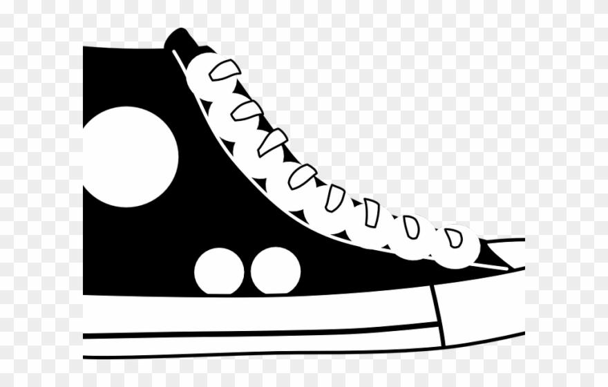 b667ff268d5b4d Shoe Clipart Converse - Blue Shoe Clipart - Png Download ( 1455195 ...