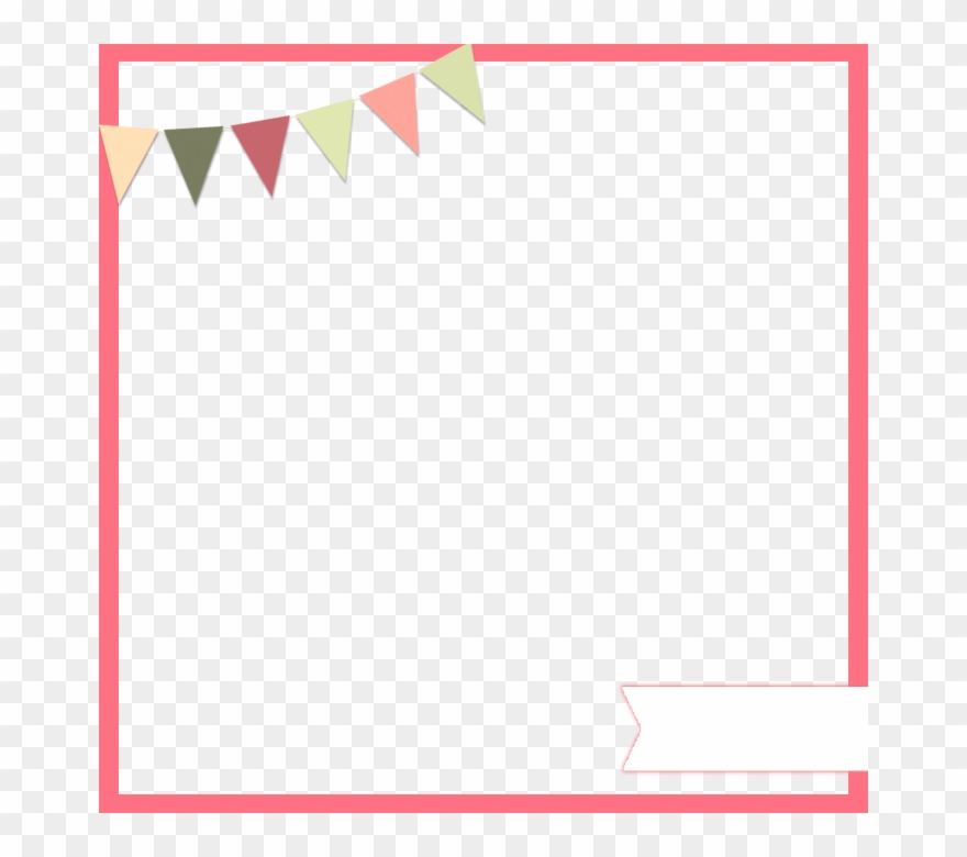 Free Download Digital Scrapbooking Clipart Paper Scrapbooking Pennant Page Border Png Download 1455924 Pinclipart