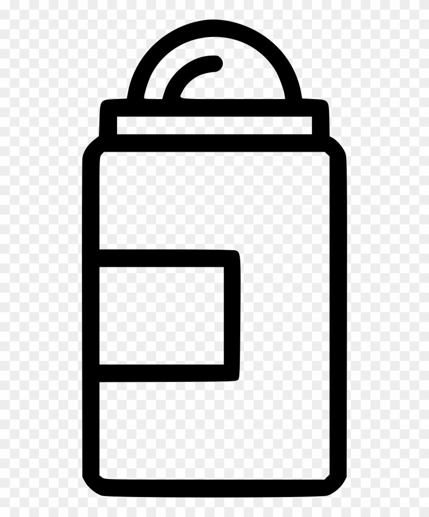 Bottle Shampoo Shower Gel Container Comments - Transparent Deoderant Clipart - Png Download