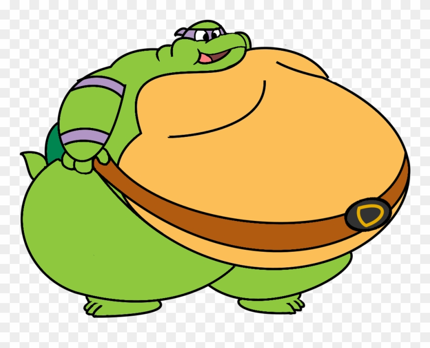 Fat Donnie Transparent Fat Cartoon Character Clipart 1473130