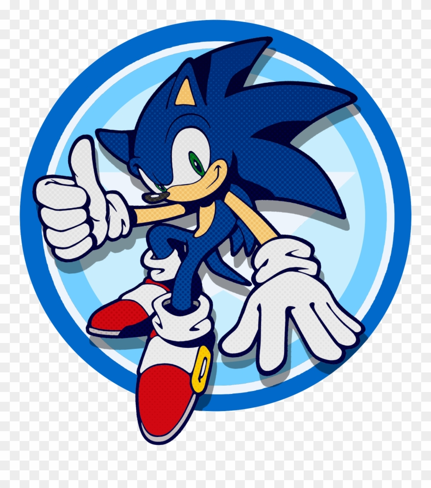 April 5 2018 Sonic The Hedgehog Circle Clipart 1473196 Pinclipart