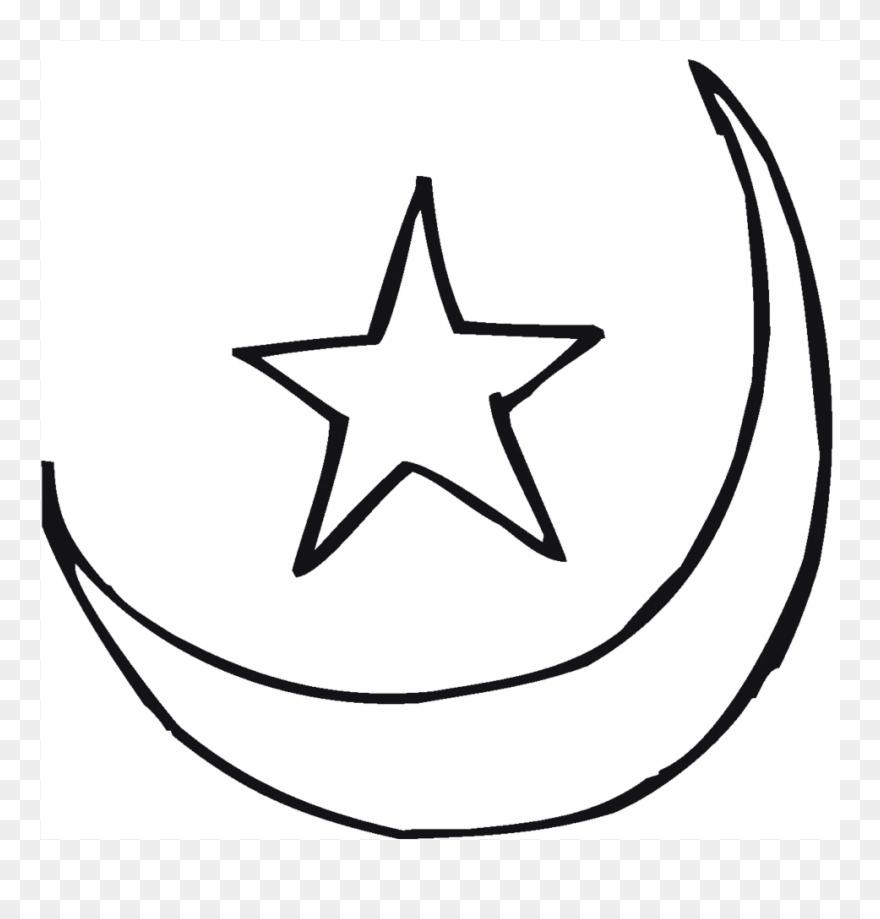 moon stars coloring sheet