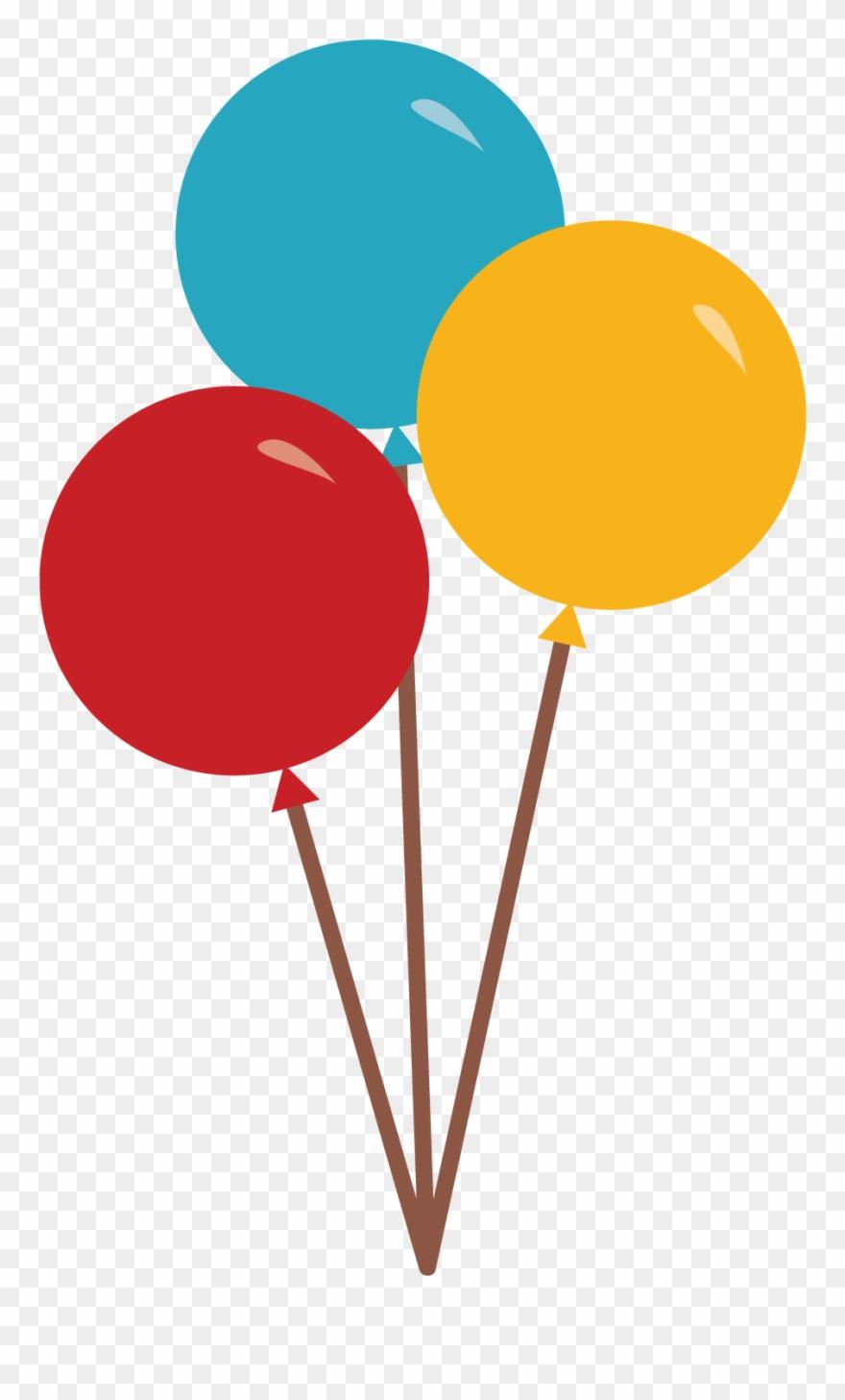 Circo Apresentador Circo Bolas 3 Baloes De Circo Desenho Clipart