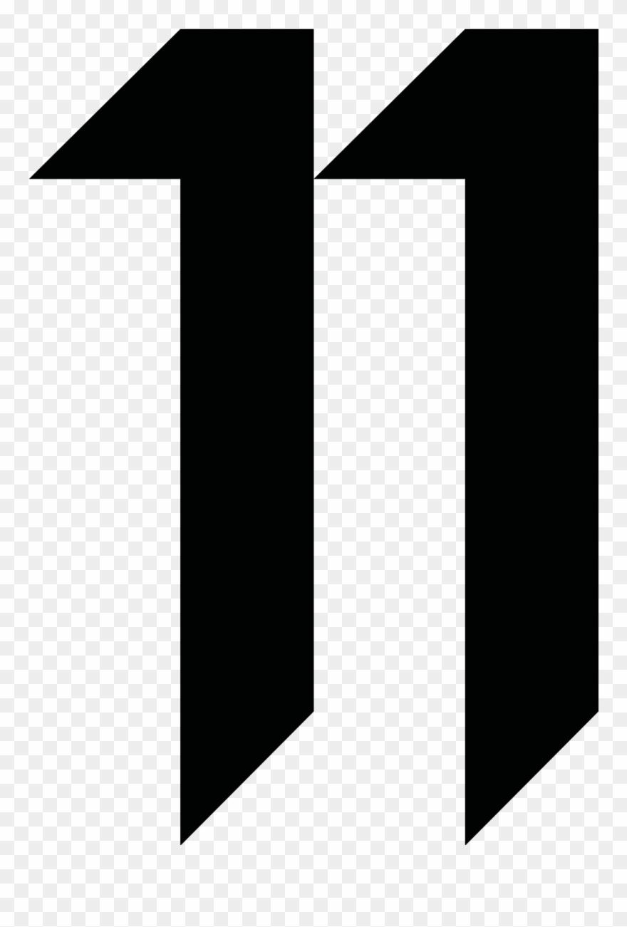Number 11 Rounded - 11 By Boris Bidjan Saberi Logo Clipart ...